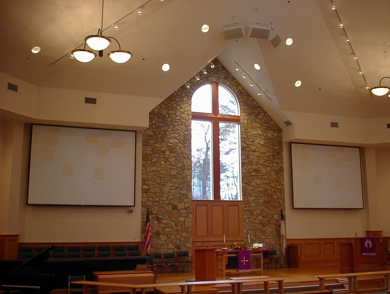 Church Sound System and Church Audio Visual System